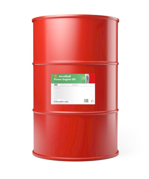 AeroShell Oil 100 - 55 AG Drum (208.2 liters)
