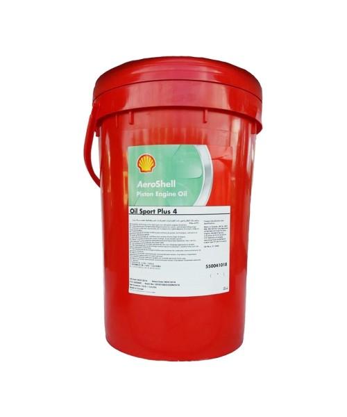 AeroShell Oil Sport PLUS 4 - 5 AG Kübel (18,93 Liter)
