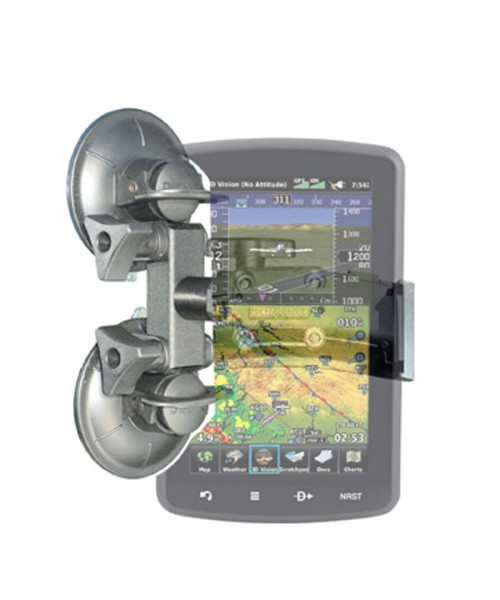 Double Suction Cup Mount for Garmin aera 795