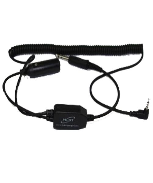 Pilot PA80i Smartphone/Headset Adapter - for recording aviation radio