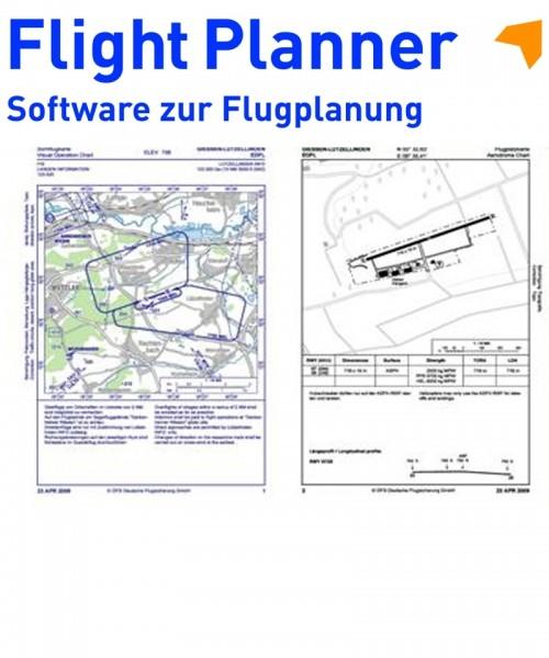 Flight Planner / Sky-Map - AIP VFR Sichtanflugkarten (inkl. 1 Jahr Berichtigungsdienst, Abruf Intern