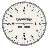 Compass Rose, pack of 10