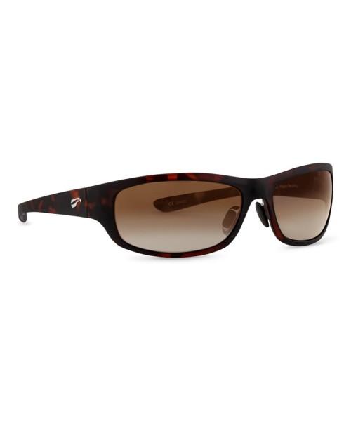 Flying Eyes Sunglasses Golden Eagle Sport - Satin Tortoise Frame, Gradient Copper Lenses