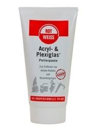 ROTWEISS - Acryl- & Plexiglas-Polierpaste, 150 ml Tube