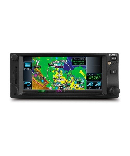 Garmin GTN 625 - black, with Rack, Backplate, Connector-Kit, Configuration Module and Product Information Kit
