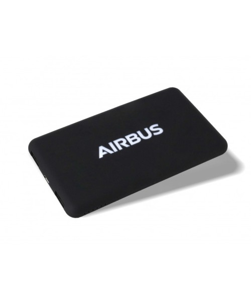 Airbus Solar Battery Batterie (5,000 mAh) - incl. 2-in1 Cable (Apple/Android)