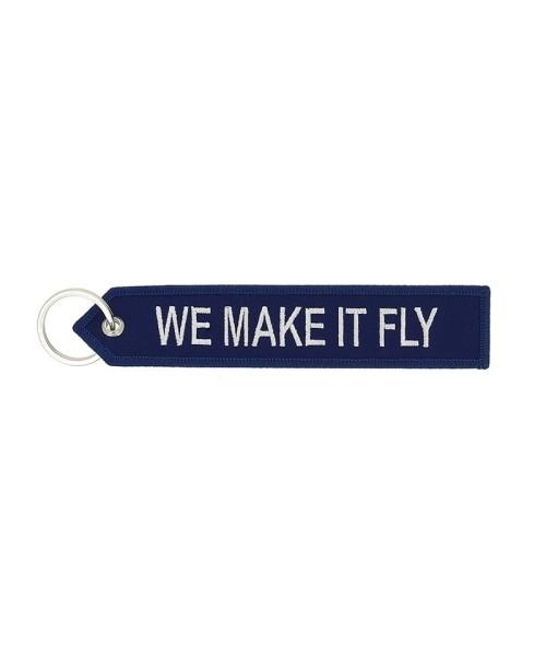 Airbus Schlüsselanhänger - We make it fly, blau/weiß