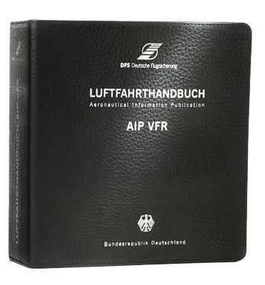 AIP VFR Leather Binder