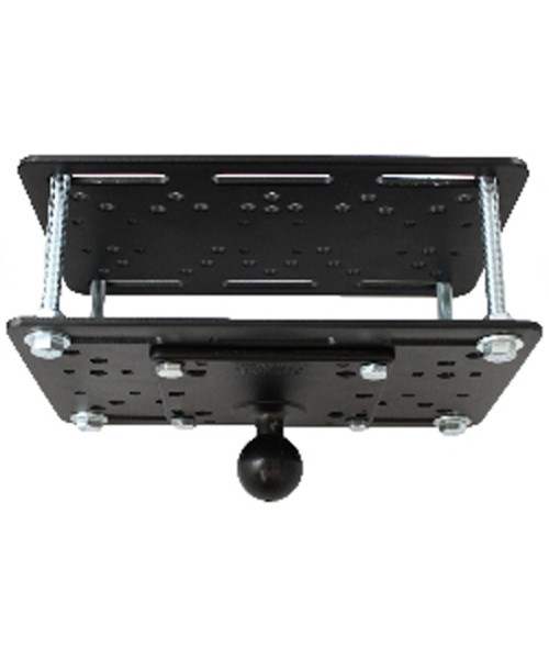 "RAM MOUNT Forklift Overhead Guard Plate with 4.75"" Square VESA Plate and 1.5"" Ball - RAM-335-246"