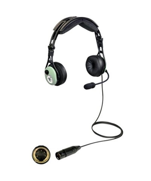 David Clark PRO-2 Headset - passive, XLR-5 Plug (5-Pin), Model 43106G-02
