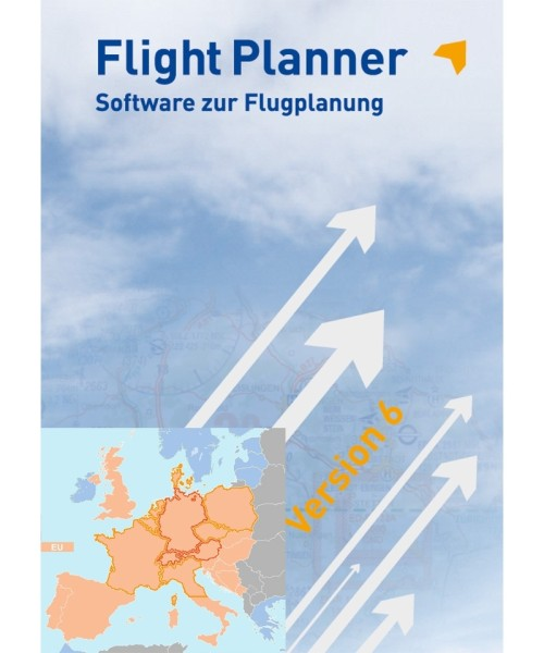 Flight Planner (full version) incl. Chart Set ICAO Europe (FP-ICAO-EU)