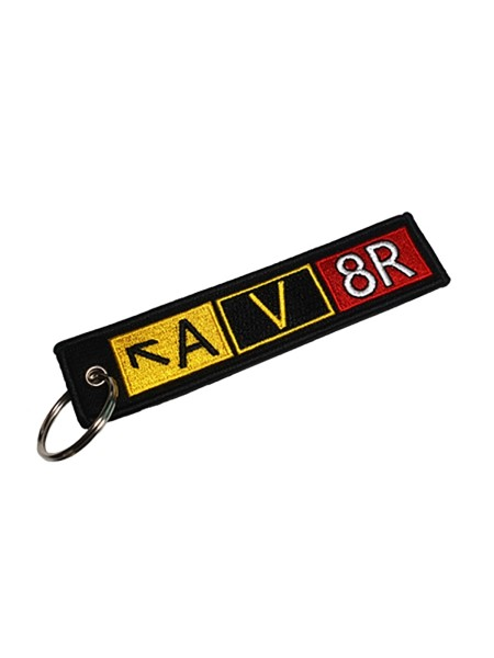 Key Ring Taxiway Sign