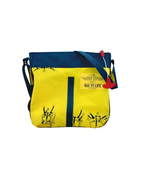 BAG TO LIFE Classic Flyer Bag - yellow/blue