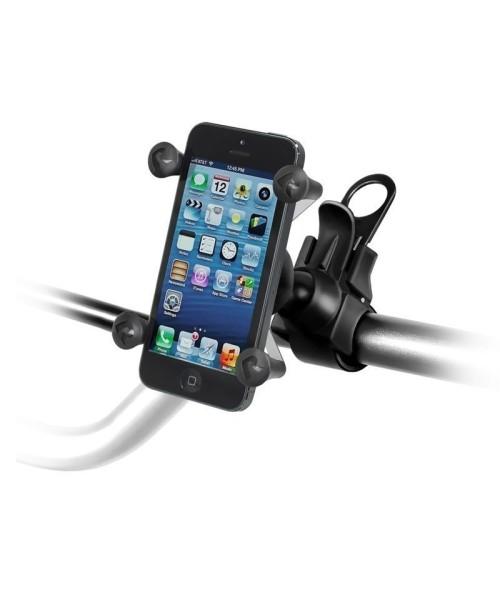 RAM Mounts EZ-Strap Lenkerhalterung mit X-Grip Universal Halteklammer für Smartphones - im Polybeute
