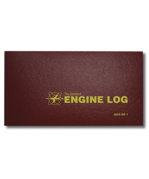 ASA Engine Log - Softcover, 64 pages