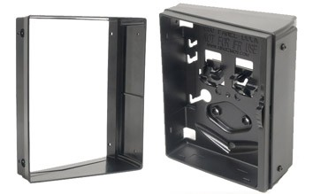Vertikaler Winkeladapter für Einbauhalterung Garmin aera 795 / GPSMAP 695 und Apple iPad mini