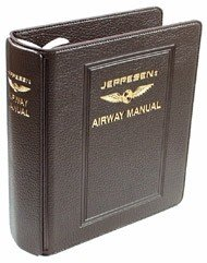 Jeppesen IFR Superior Plastic Binder (PB-2) - 2 Inches, brown
