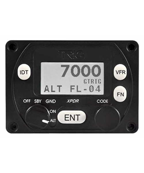 TRIG Transponder TT21 - Class 2, Mode S and 1090ES ADS-B Out, VFR/IFR certified