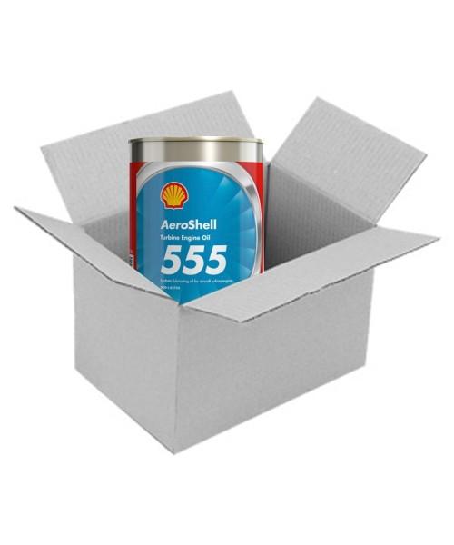 AeroShell Turbine Oil 555 - Karton (24x 1 AQ Dosen, US-Quart)