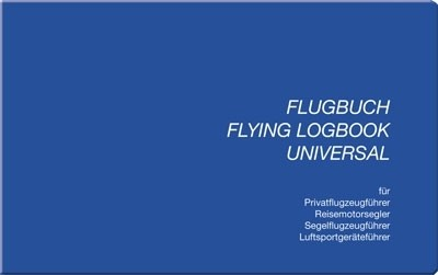 Universal Flying Logbook (Schiffmann) - Softcover, German issue