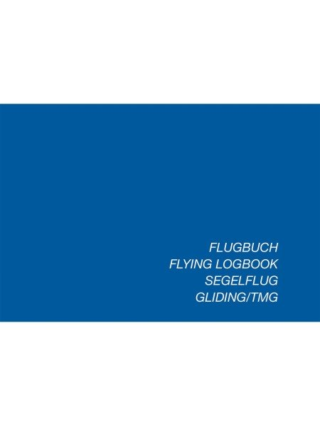 Logbook Gliding / TMG (Schiffmann) - Softcover, German issue