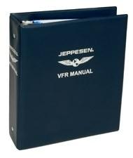 Jeppesen VFR Manual Ordner, 2 Inch