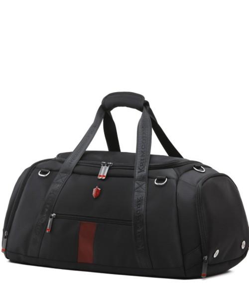 Krimcode Sport Attire Duffel Bag - 50 liters volume, black (KSTL01-1N0SM)