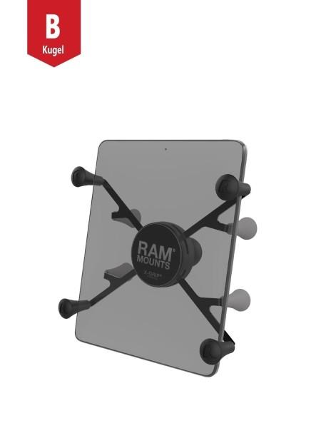 RAM Mounts X-Grip Universal Halteklammer für 7 Zoll Tablets - mit B-Kugel (1 Zoll), im Polybeutel