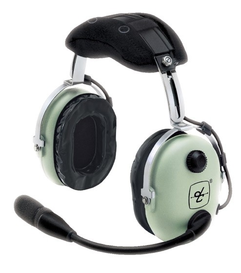 David Clark H10-13.4 General Aviation Headset, PJ-Stecker, gerades Kabel - ohne Tasche