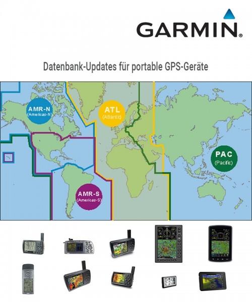 Garmin Aviation Database Update for portable GPS