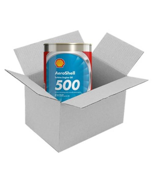 AeroShell Turbine Oil 500 - Box (24x 1 AQ Cans, US-Quart)