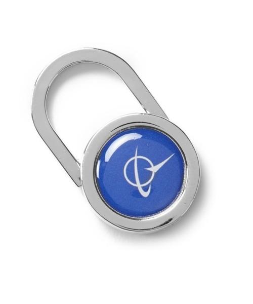 Boeing Symbol Padlock Keychain