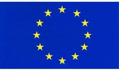 Europaflagge, selbstklebend