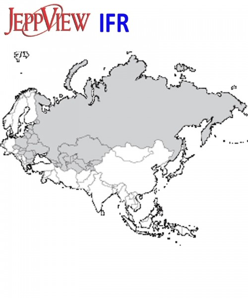JeppView IFR Version JVEEU (Eastern Europe) - Jahres-Abo