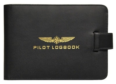 Logbook Cover PILOT - black