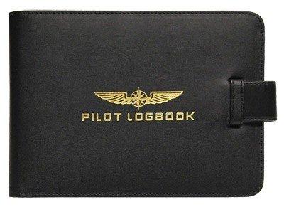 Logbook Cover PILOT - black