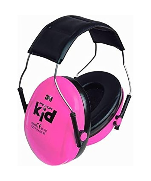 Peltor Kid - Noise Protection for Children, neon pink