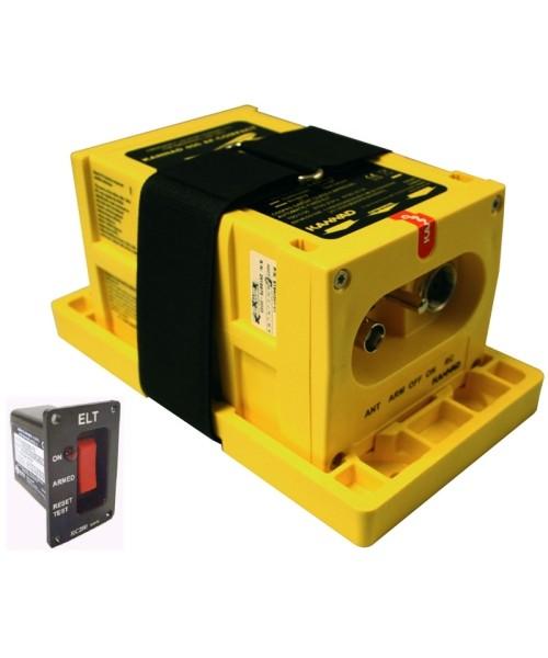 McMurdo ELT 406 Integra AF (mit GPS) - Paket inkl. Montagehalter und Fernbedienung (3-adrig)