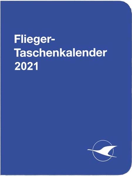 Flieger-Taschenkalender 2021