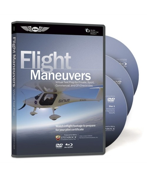 ASA Flight Maneuvers (Virtual Test Prep) - DVD und Blu-Ray