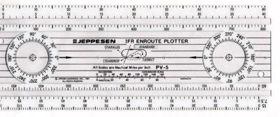 Jeppesen PV-5 Plotter