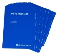 Jeppesen VFR Manual, Country Tab Set