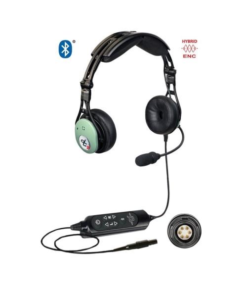 David Clark PRO-X2 Hybrid ENC Headset - active, LEMO plug (6-Pin), Bluetooth (Model43105G-02)