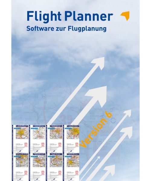 Flight Planner Vollversion inkl. ICAO Karten Deutschland