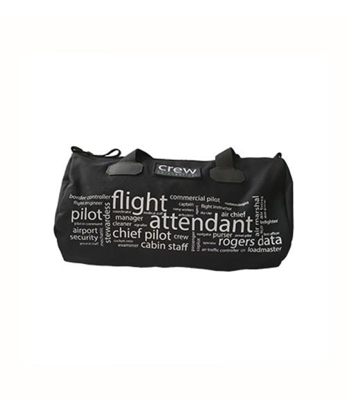 Rogers Data Sporttasche Air Crew - Canvas, schwarz
