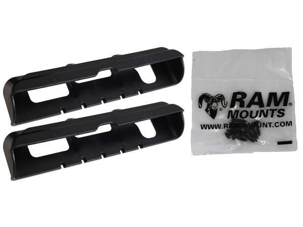 RAM Mounts Tab-Tite Endkappen für Apple iPad 1-4 (in LifeProof u. Lifeedge Schutzgehäusen) - Schraub