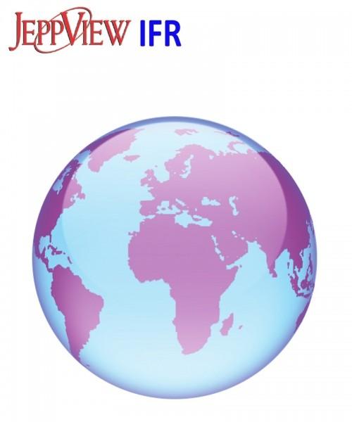 JeppView IFR Version JVWLD (Worldwide) - 1 Year Subscription