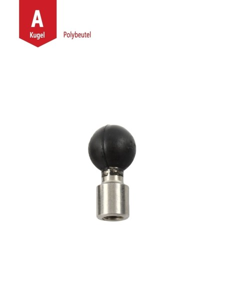 """1/4"""" POST W/ 1/4""""-20 THREADED HOLE STST"""