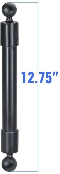"RAM MOUNT Extension Pole (12.75"") with two 1"" B-Ball Ends - RAP-BB-230-14U"