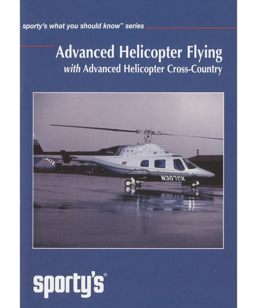 Sporty's DVD - Advanced Helicopter Flying (with advanced Helicopter Cross-Country)